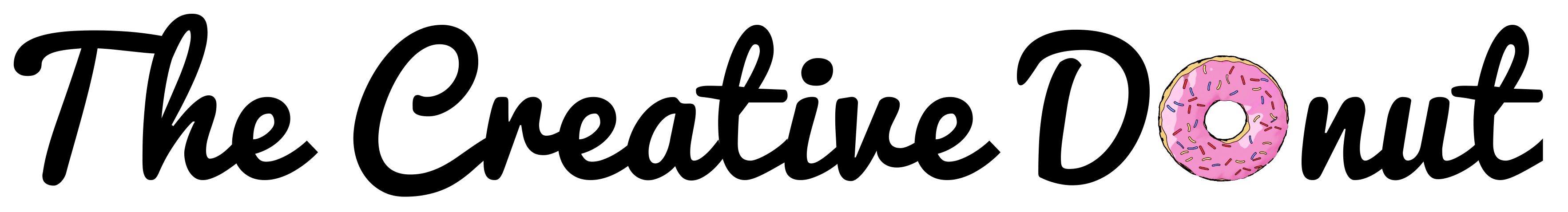 donut logo branding black creative donut website design newbury berkshire sam lee